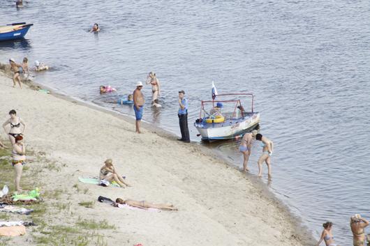 пляж Мозыря