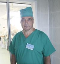А.Ф.Гладченко — заведующий операционным блоком Мозырской горбольницы, хирург