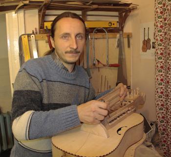 музыкант Андрей Шкледа (Мозырь)