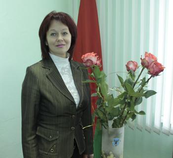 Ирина Миронычева, начальник отдела культуры Мозырского райисполкома