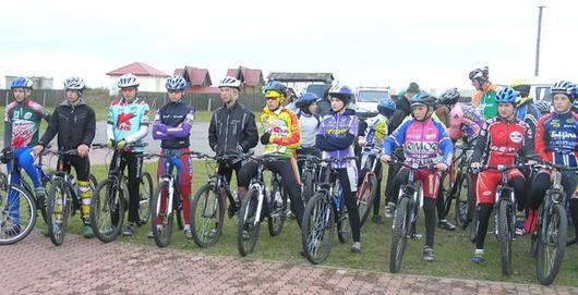 Мозырские велосипедисты
