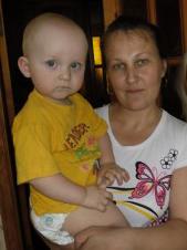 Ольга Александровна Савенко, многодетная мама из д.Козенки Мозырского района