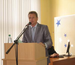 главный тренер Республики Беларусь по гребле на байдарках и каноэ, заслуженный тренер Республики Беларусь Владимир Владимирович Шантарович
