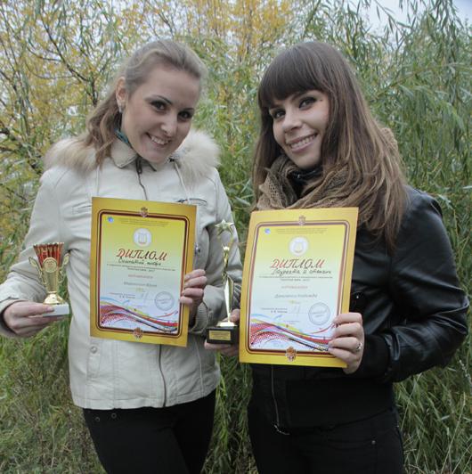 Юлия Миронович и Надежда Даньченко (Мозырь)