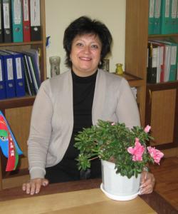 начальник отдела образования Мозырского райисполкома Любовь Степановна Клепчукова