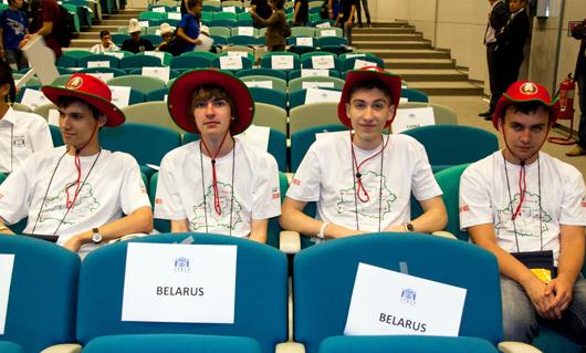 Сборная Беларуси на международной олимпиаде по информатике (Италия)