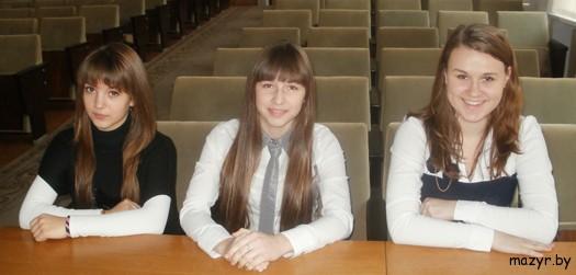 Алина Маскальчук, Ангелина Володкович, Марина Ивахненко (г.Мозырь)