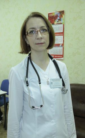 Алла Антоненко, зав. отделением неврологии Мозырской горбольницы