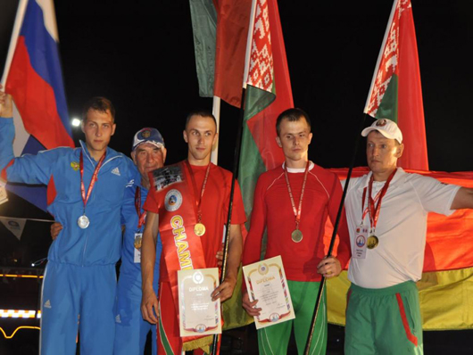 Мозырянин Владимир Стрельченя в составе сборной Беларуси стал чемпионом мира по пожарно-спасательному спорту