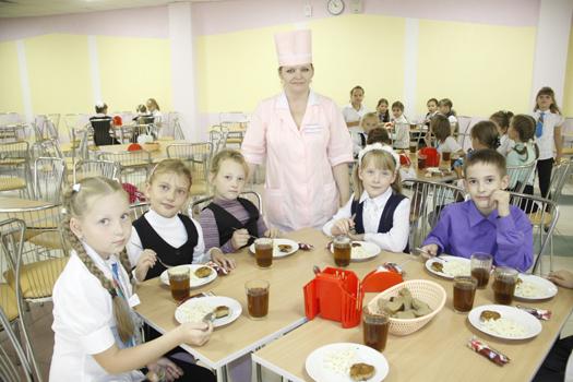 Школьная столовая СШ №16 г.Мозыря