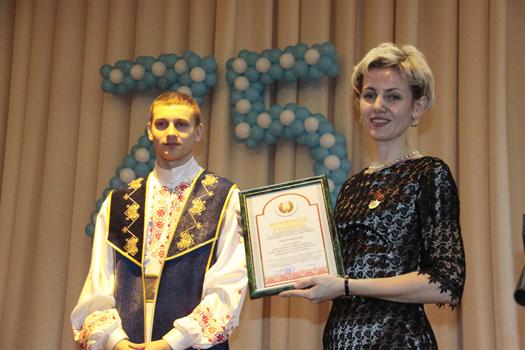 Мозырский медколледж торжественно отметил 75-ю годовщину
