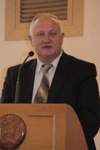 председатель Мозырского райисполкома Е.Б.Адаменко