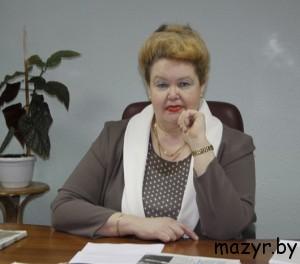 """Лариса Петровна Черная, главный редактор """"Жыццё Палесся"""" Мозырь"""