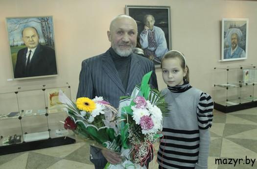 Мозырский живописец, член Белорусского Союза художников Николай Кузьмич Дуброва