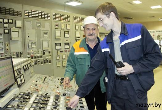 Сергей Григорьевич Харсеко и Дмитрий Вераксич (Мозырской ТЭЦ)