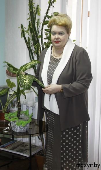 """Лариса Петровна Черная, главный редактор газеты """"Жыццё Палесся"""" (Мозырь)"""