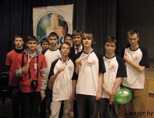 медалисты Всероссийской командной олимпиады школьников по программированию