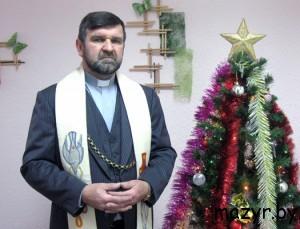 настоятель прихода Успения Пресвятой Девы Марии в г. Мозыре ксендз Тадеуш ВОЛОС