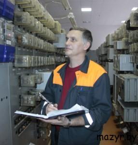Начальник смены электроцеха И.С.Иванов