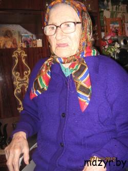 Ева Антоновна Кузьменко, долгожитель Мозыря
