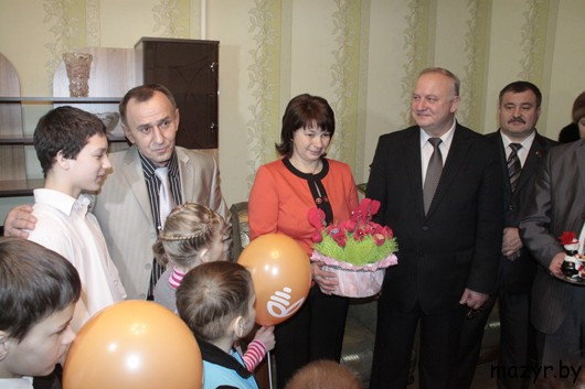Открытие детского дома семейного типа в Мозыре