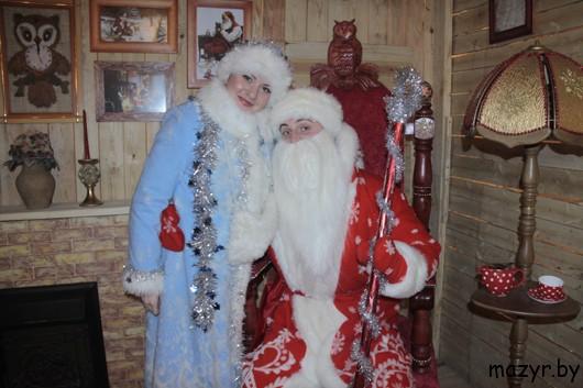 Новогодняя ярмарка Дедов Морозов (Мозырь, 25.12.12)