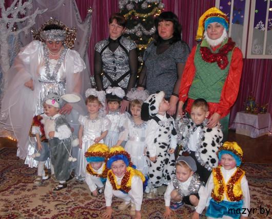 в Мозырском детском доме