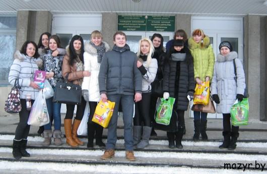 Волонтеры Мозырского политехнического колледжа: