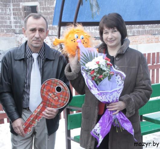 Ирина Сергеевна и Василий Александрович Денисенко.