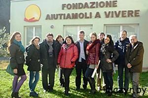 Мозырские волонтеры в Италии