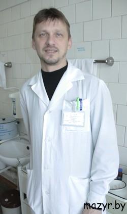 Вадим ШОБА, врач-уролог Мозырской горбольницы