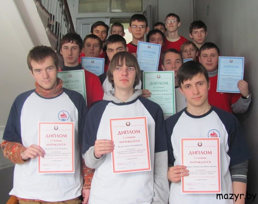кружок спортивного программирования Клуба юных пожарных г.Мозыря