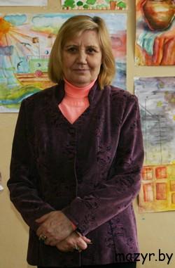 """Ирина Алексеевна Федченко, директор ДК """"Строитель"""" г.Мозыря"""