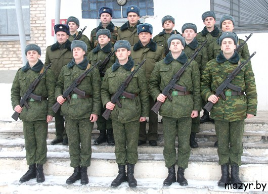 1052-й отдельный радиотехнический батальон дислоцируется в Мозыре