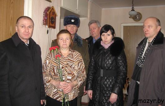 В семье погибшего воина-интернацианалиста Михаила Бобовича