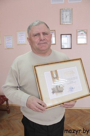 "Директор ГП ""Козенки-Агро"" Владимир Васильевич Жилин"