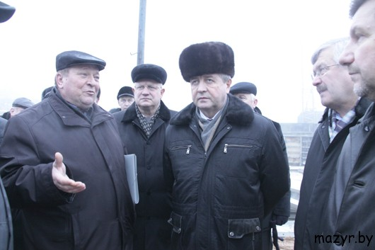 Визит В.И.Семашко на ГП «Мозырский ДОК»