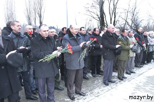 На Мозырщине 15 февраля  отметили 24-ю годовщину вывода войск из Афганистана
