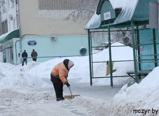 Мозырь, февраль 2013