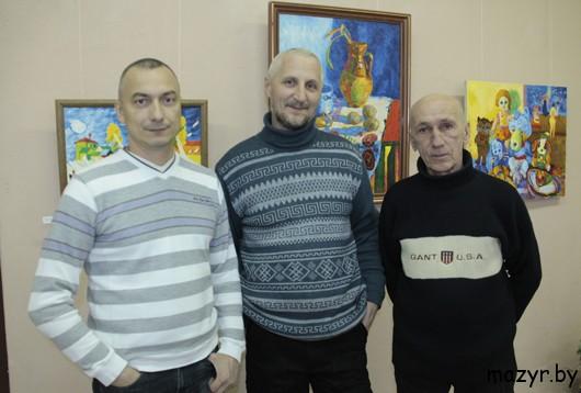 Юлий Зборовский, Александр Песецкий, Геннадий Уханов.