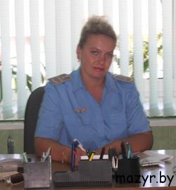 начальник станции Мозырь Ольга Викторовна Сахненко.