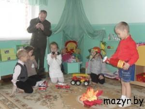 в детском саду (г.Мозырь)