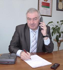 главный государственный санитарный врач Мозырского района Александр Николаевич Грамович