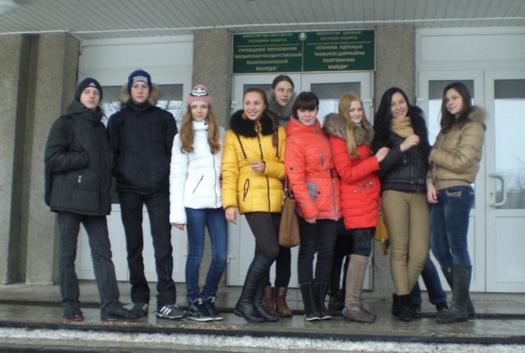 ученики СШ №14 г.Мозыря