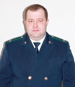 Антон Николаевич ЧУЕШОВ, прокурор Мозырского района советник юстиции