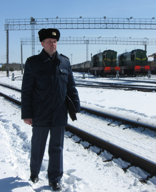 Владимир Александрович Шубич, заместитель начальника Гомельской таможни, начальник Мозырского таможенного поста