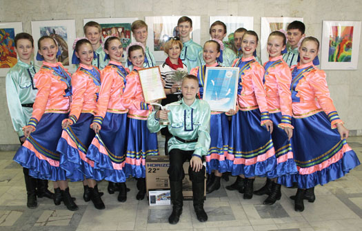 образцовый ансамбль танца Папараць кветка, г.Слуцк, Беларусь.