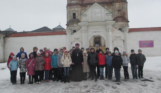 Учащиеся СШ №6 побывали с паломнической поездкой в Юровичском монастыре