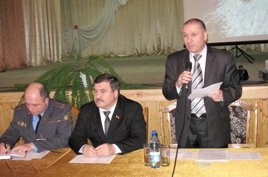 Заседание выездной рабочей группы Мозырского райисполкома в Козенском сельсовете