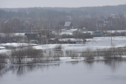 Паводок в Мозыре, апрель 2013 г.